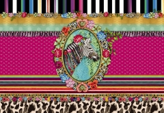8-951 MelliMello Zebra
