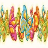 GIR83011B Bubbly Butterflies
